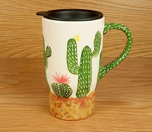 Montgomeryville Cactus Travel Mug