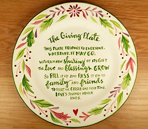 Montgomeryville The Giving Plate
