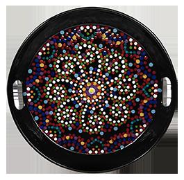 Montgomeryville Mosaic Mandala Tray