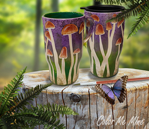 Montgomeryville Mushroom Mugs