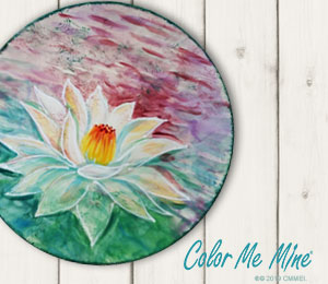 Montgomeryville Lotus Flower Plate