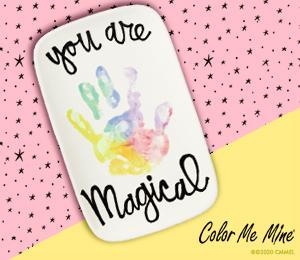 Montgomeryville Rainbow Hand-print
