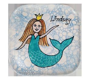 Montgomeryville Mermaid Plate