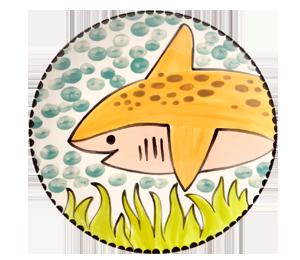 Montgomeryville Happy Shark Plate