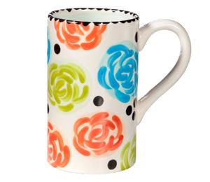 Montgomeryville Simple Floral Mug