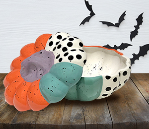 Montgomeryville Color Block Pumpkin