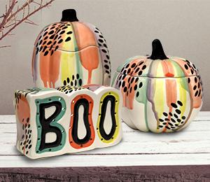 Montgomeryville Drippy Pumpkin Box