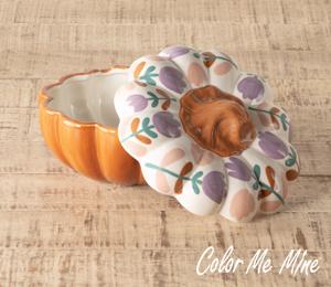 Montgomeryville Floral Pumpkin Box
