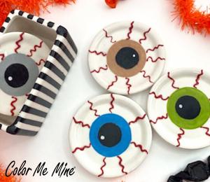 Montgomeryville Eyeball Coasters