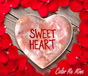 Montgomeryville Candy Heart Plate