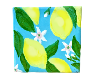 Montgomeryville Lemon Square Tile