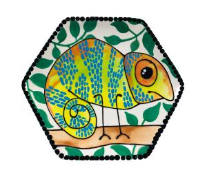 Montgomeryville Chameleon Plate