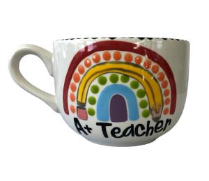 Montgomeryville Polka Dot Rainbow Mug